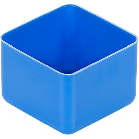 Caja insertable EK 401, PS, azul, 40 unidades