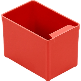 Caja insertable EK 552, PS, 40 unidades, rojo