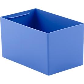 Caja insertable EK 6042, PP, azul, 20 unidades
