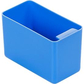 Caja insertable, poliestireno, L 90 x An 48 x Al 60mm, azul