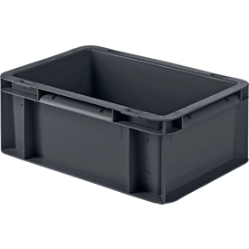 Caja norma europea SSI Schäfer EF 3120, cerrado, polipropileno, L 300 x An 200 x Al 120mm, 4,2l