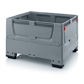 Caja-palet Big Box cerrada, 4 patas, 1200 x 800 x 790mm