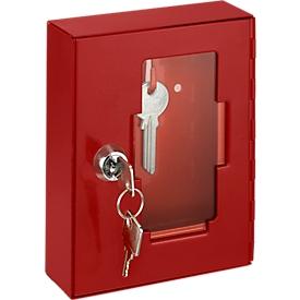 Caja para llaves de emergencia c. cristal, s. maza