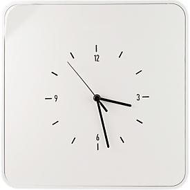 Caja para llaves Paperflow Multibox, con 12 ganchos y reloj, blanco