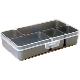 Caja para piezas pequeñas Sunware Q-line Mixed, 5 compartimentos
