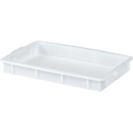 Caja, plástico, 9l, blanco