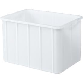 Caja, plástico, 96l, blanco