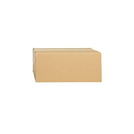 Cajas plegables de cartón ondulado, de una sola pared, 350 x 300 x 150 mm