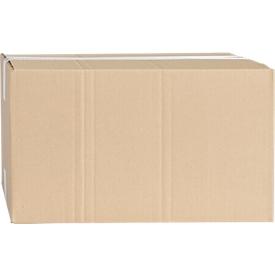 Cajas plegables de cartón ondulado, de una sola pared, 400 x 300 x 180 mm