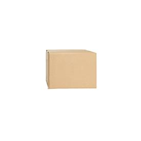 Cajas plegables de cartón ondulado, doble pared, 225 x 140 x 140 mm
