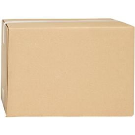 Cajas plegables de cartón ondulado, doble pared, 280 x 180 x 170 mm