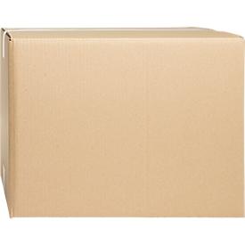 Cajas plegables de cartón ondulado, doble pared, 400 x 325 x 310 mm