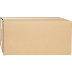 Cajas plegables de cartón ondulado, doble pared, 430 x 300 x 200 mm