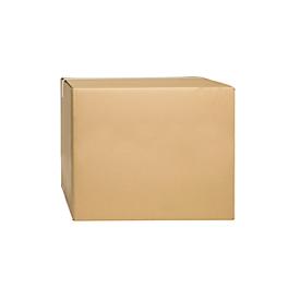 Cajas plegables de cartón ondulado, doble pared, 500 x 500 x 400 mm
