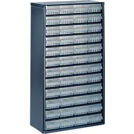 Cajonera-almacén de acero, 48 cajones, Al 555 x An 307 P x 150mm
