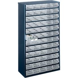 Cajonera-almacén de acero, 60 cajones, Al 555 x An 307 x P 150mm