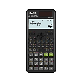 Calculadora científica de bolsillo CASIO FX-82DEX, 325 funciones, pantalla LC, solar/pila, negro