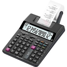 Calculadora con impresora Casio HR-150RCE, pantalla LC de 12 dígitos, anchura de papel 58 mm