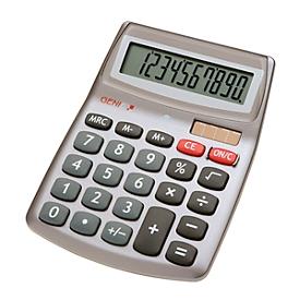 Calculadora de bolsillo Genie 540, con pantalla de 10 dígitos, alimentado con batería y solar