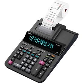 Calculadora de mesa Casio DR-320RE, impresión en 2 colores, pantalla de 14 dígitos, impresión posterior/reimpresión