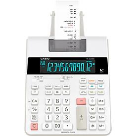Calculadora de mesa Casio FR-2650RC, función de impresión, pantalla de 12 dígitos, memoria de 4 teclas