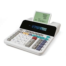 Calculadora de mesa Sharp EL-1901, sin papel, pantalla Digitron de 12 dígitos, pantalla LCD de 5 filas, alimentado por red