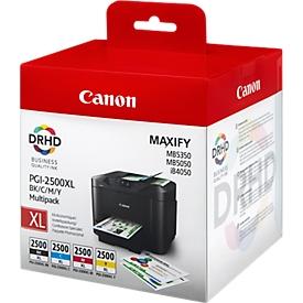 Canon Tintenpatronen PGI-2500XL BK/C/M/Y, 4 Stück, original