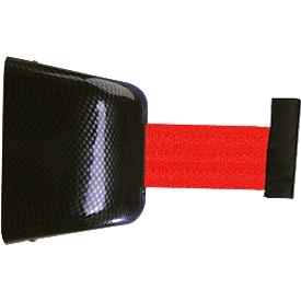 Carrete de cinta para pared, fijación con tornillos, 5 m, cinta rojo