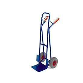 Carretilla apiladora, ruedas de goma maciza, capacidad de carga 250kg
