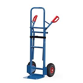 Carretilla para sillas/carretilla apiladora, ruedas neumáticas