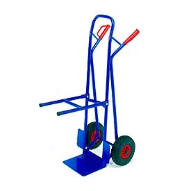Carretilla para sillas con ruedas de goma maciza