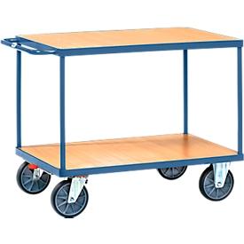 Carrito de transporte con mesa, 850 x 500mm