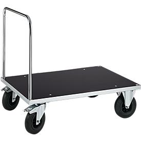Carro de plataforma con manija, 1200 x 800 x 900mm