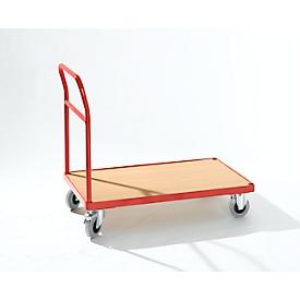 Carro de plataforma con manija, 850 x 500mm