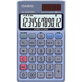 Casio zakrekenmachine SL-320TER+, 12-cijferig