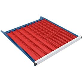 Cavidades para herramientas An 45 y 70 mm, para altura de cajón 50 mm