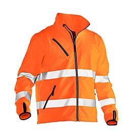 Chaqueta Softshell Jobman 1202 PRACTICAL, alta visibilidad, EN ISO 20471 clase 3, naranja, poliéster, M
