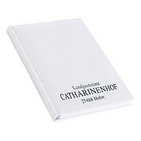 Chef-Terminkalender, im Einzelkarton, 320 Seiten, B 150 x T 20 x H 210 mm, Werbedruck 100 x 80 mm, weiß, Auswahl Werbeanbringung optional