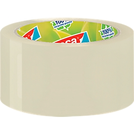 Cinta adhesiva de embalaje tesapack® Eco & Strong, 6 rollos, transparente