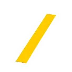 Cinta de señalización de suelos, An 50mm, L 25 m, amarillo