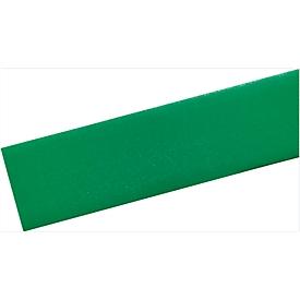 Cinta de señalización de suelos Durable, resistente al paso de carretillas, autoadherente, 30m de largo, verde