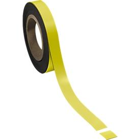 Cinta magnética, amarillo, 20 x 10000mm