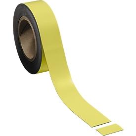 Cinta magnética, amarillo, 40 x 10000mm