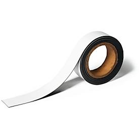 Cinta magnética de identificación, L 5 m x An 20mm, recortable, escribible