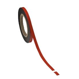 Cinta magnética, rojo claro, 10 x 10000mm