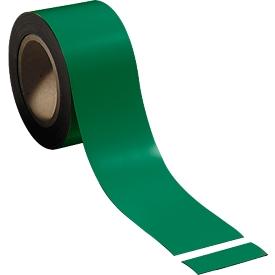 Cinta magnética, verde claro, 70 mm x 100 mm