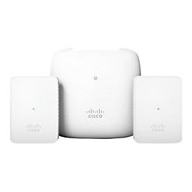 Cisco Business 140AC - Mesh Starter Kit - Funkbasisstation - mit 2 x Cisco Business 142ACM Mesh Extender
