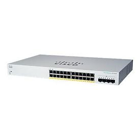 Cisco Business 220 Series CBS220-24FP-4X - Switch - 24 Anschlüsse - Smart - an Rack montierbar