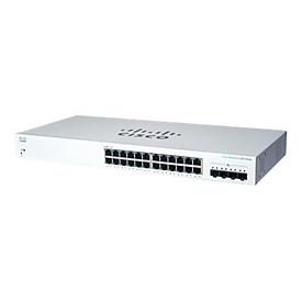 Cisco Business 220 Series CBS220-24T-4X - Switch - 24 Anschlüsse - Smart - an Rack montierbar