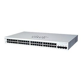 Cisco Business 220 Series CBS220-48T-4G - Switch - 52 Anschlüsse - Smart - an Rack montierbar